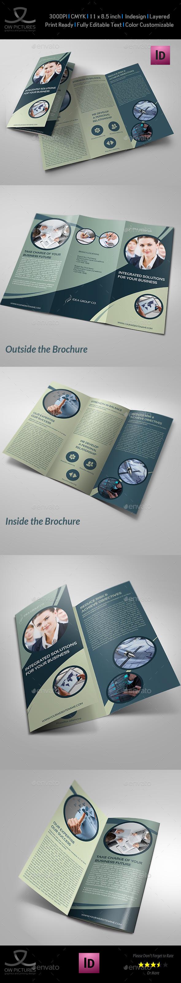 Corporate Business Tri-Fold Brochure Vol.22 - Corporate Brochures