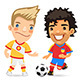 Big Set for Soccer Project - GraphicRiver Item for Sale