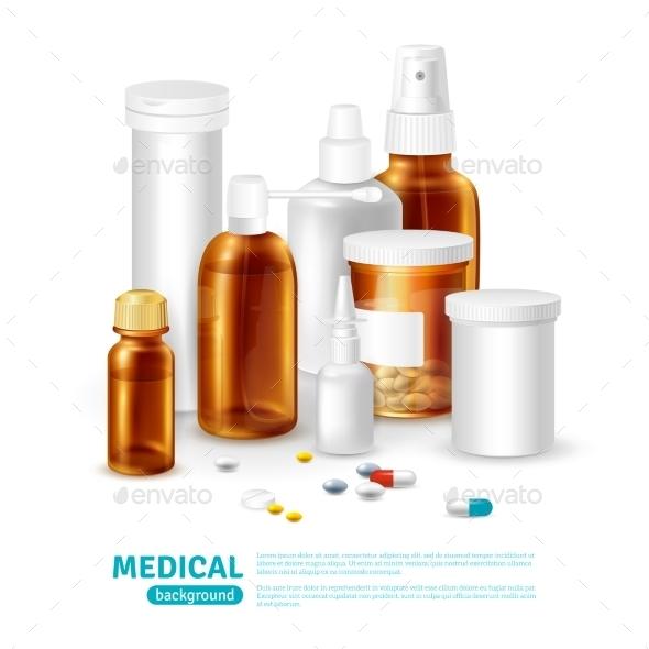 Medical Realistic Background  - Health/Medicine Conceptual