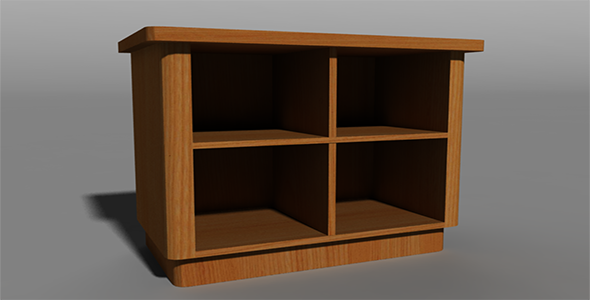 Shelf  - 3DOcean Item for Sale