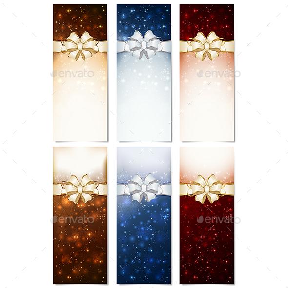 Shiny Christmas Cards - Christmas Seasons/Holidays