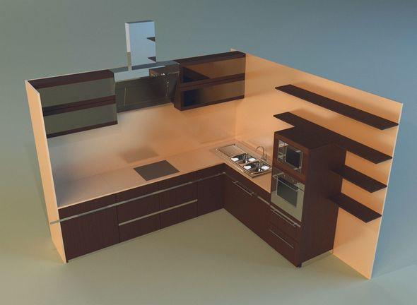 Kitchen 8 - 3DOcean Item for Sale