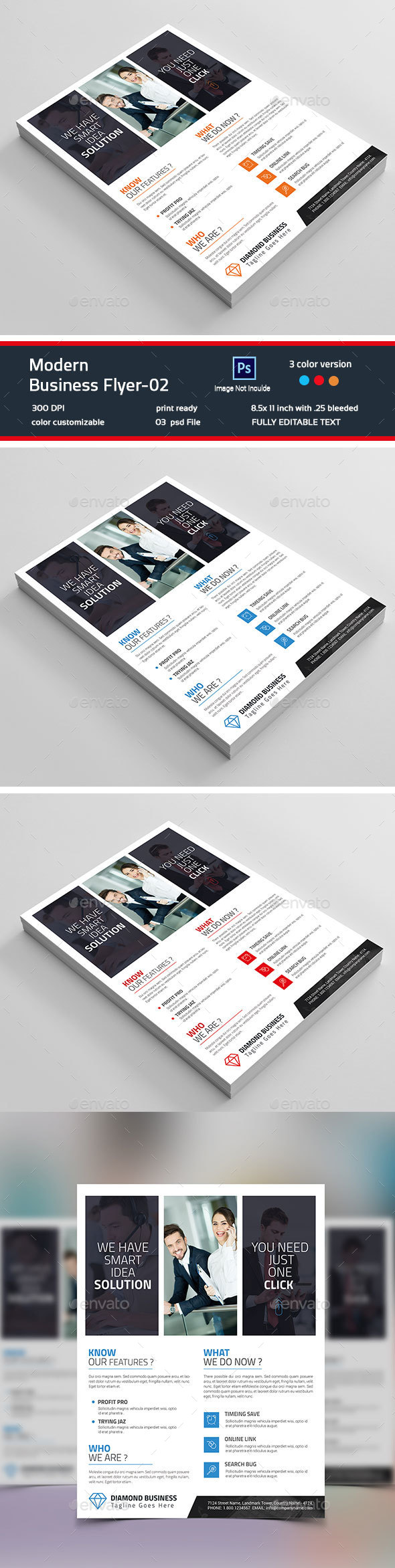 Modern Business Flyer-02 - Flyers Print Templates