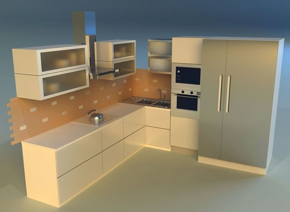 Kitchen 15 - 3DOcean Item for Sale