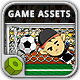 Crazy Freekick Game Assets