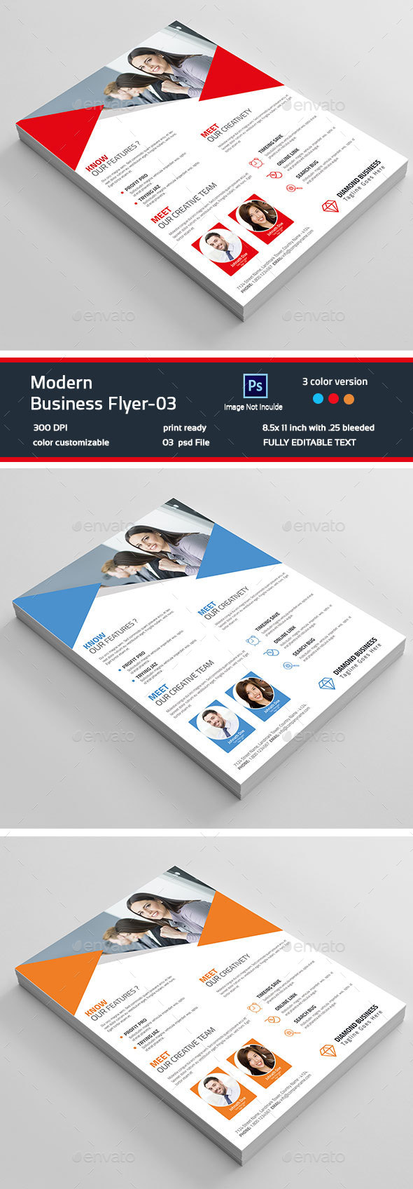 Modern Business Flyer-03 - Corporate Flyers