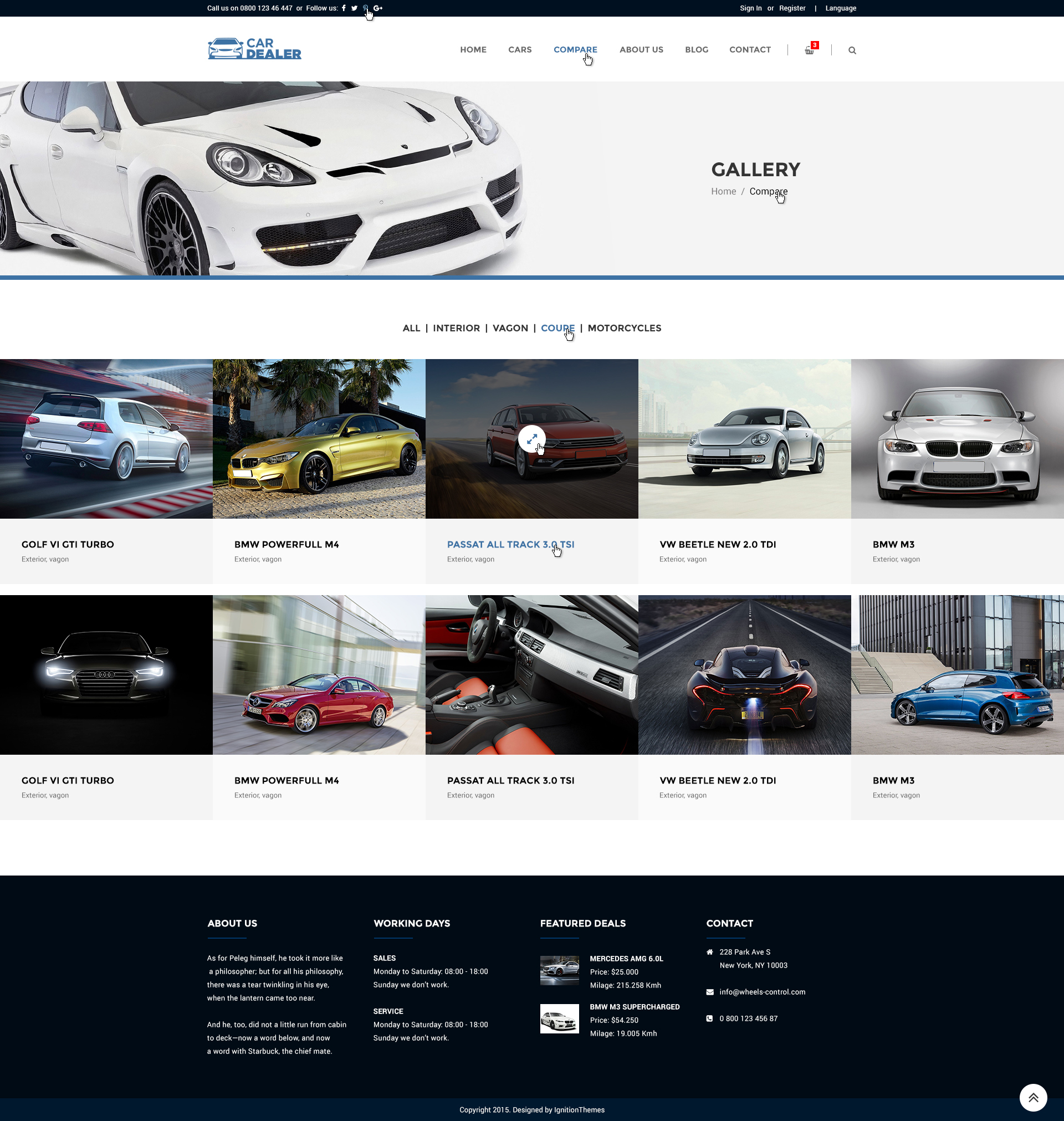 car dealer auto dealing psd template by ignitionthemes