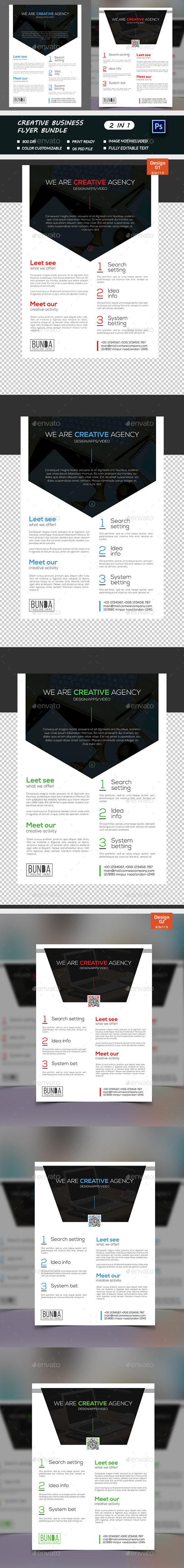 Creative Business Flyer Bundle  - Corporate Flyers