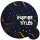 Inspire Titles - VideoHive Item for Sale