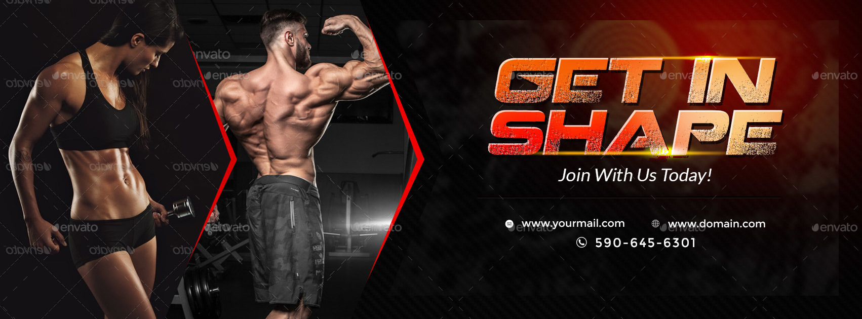 Health & Fitness Facebook Covers - 2 Designs by doto ...