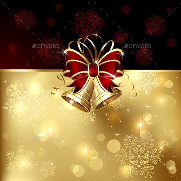 Two Christmas Bells - Christmas Seasons/Holidays