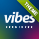 Vibes - The Portfolio Template Nulled