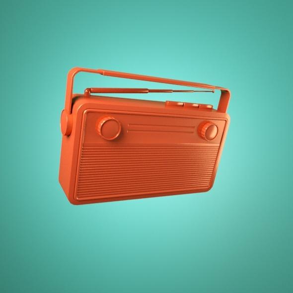 Radio - 3DOcean Item for Sale