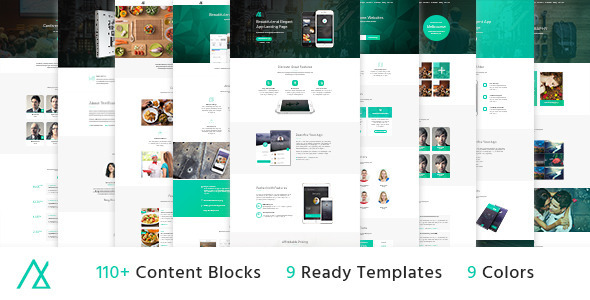 Nemo – Landing Page Pack with Builder