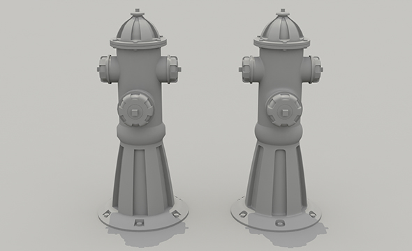 FirePlug - 3DOcean Item for Sale