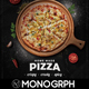 Pizza Menu Set/Rustic - GraphicRiver Item for Sale