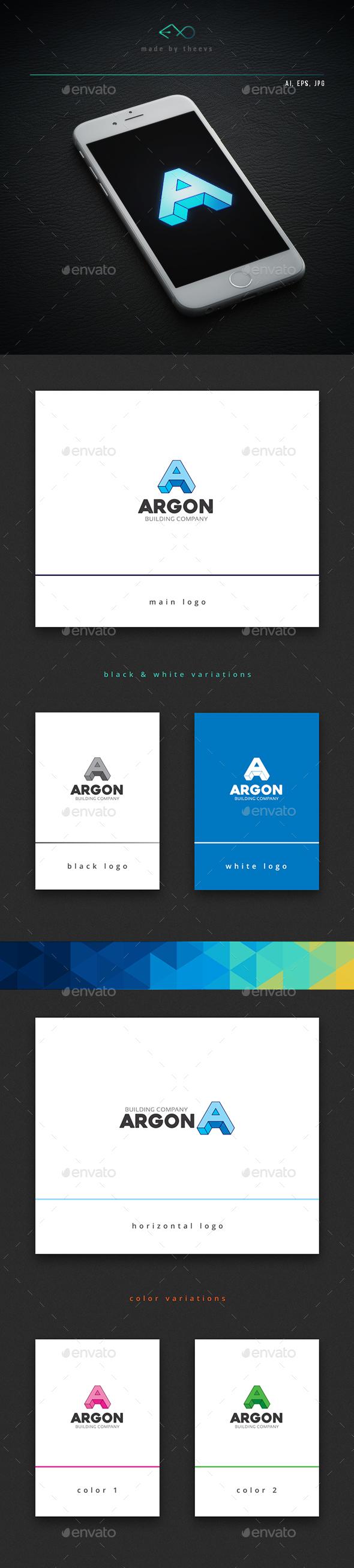 Argon - Letters Logo Templates