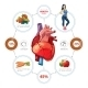 Heart Medical Infographics - GraphicRiver Item for Sale