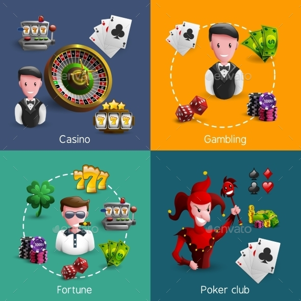 Casino Compositions Set - Industries Business