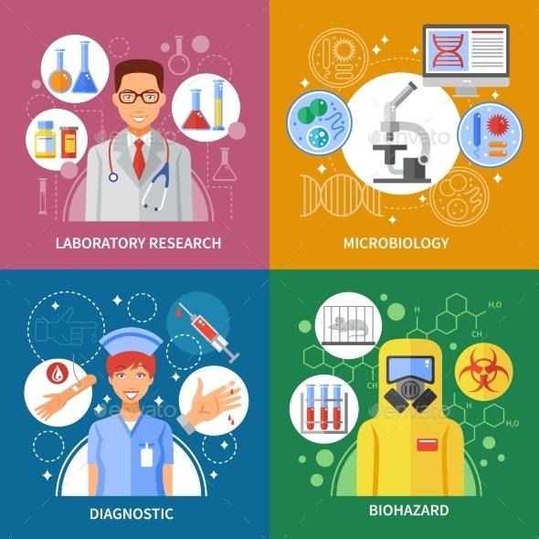 Microbiology Test Concept - Health/Medicine Conceptual
