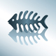 Vector fish skeleton - GraphicRiver Item for Sale