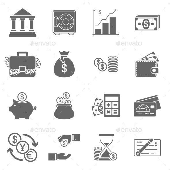 Business Finance Icons - Business Icons
