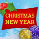 Merry Christmas & Happy New Year - Greeting Card