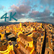 Aerial Old Town (3 clips) - VideoHive Item for Sale