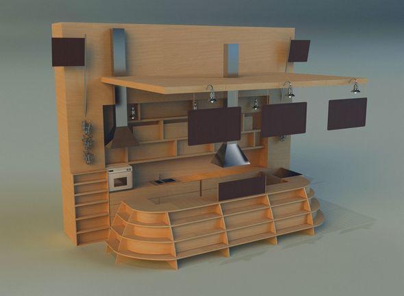 Trade pavilion 13 - 3DOcean Item for Sale