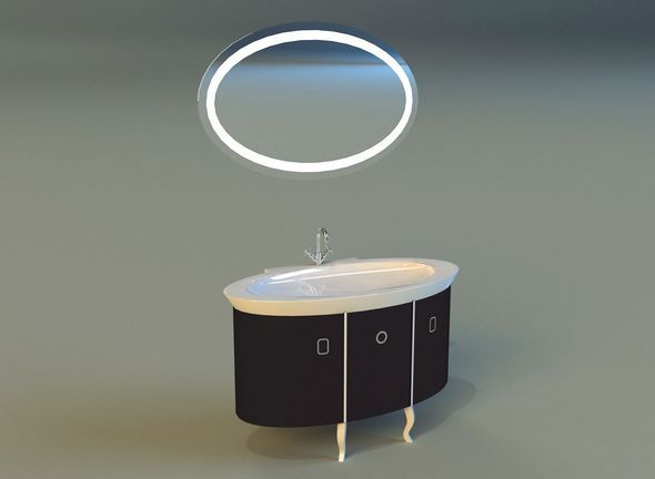 Washbasin 1 - 3DOcean Item for Sale