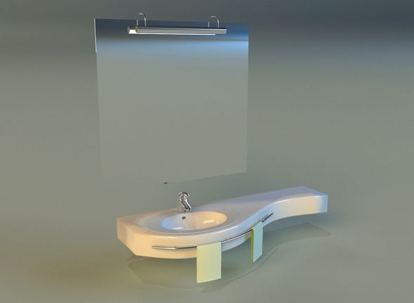 Washbasin 3 - 3DOcean Item for Sale