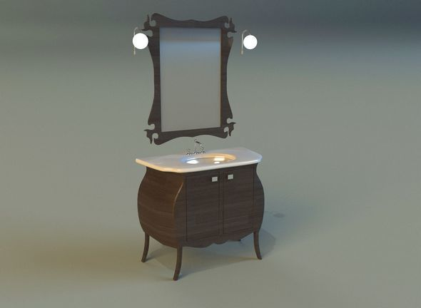 Washbasin 6 - 3DOcean Item for Sale