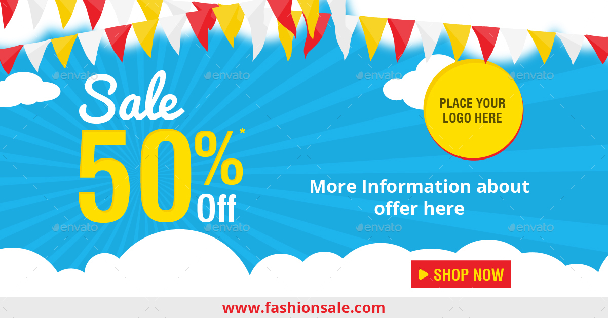Sales Banners by syfixdesigns | GraphicRiver