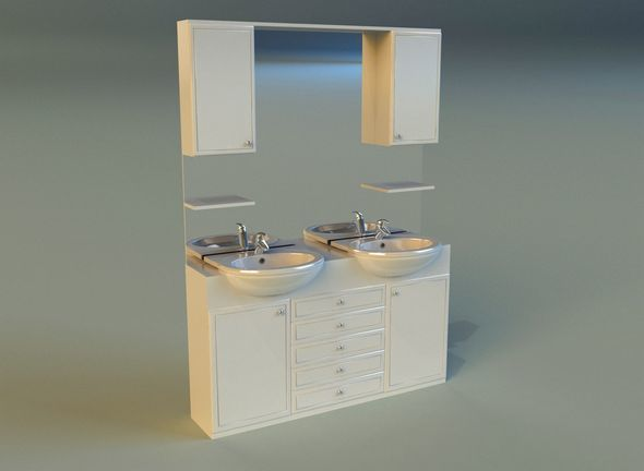 Washbasin 14 - 3DOcean Item for Sale