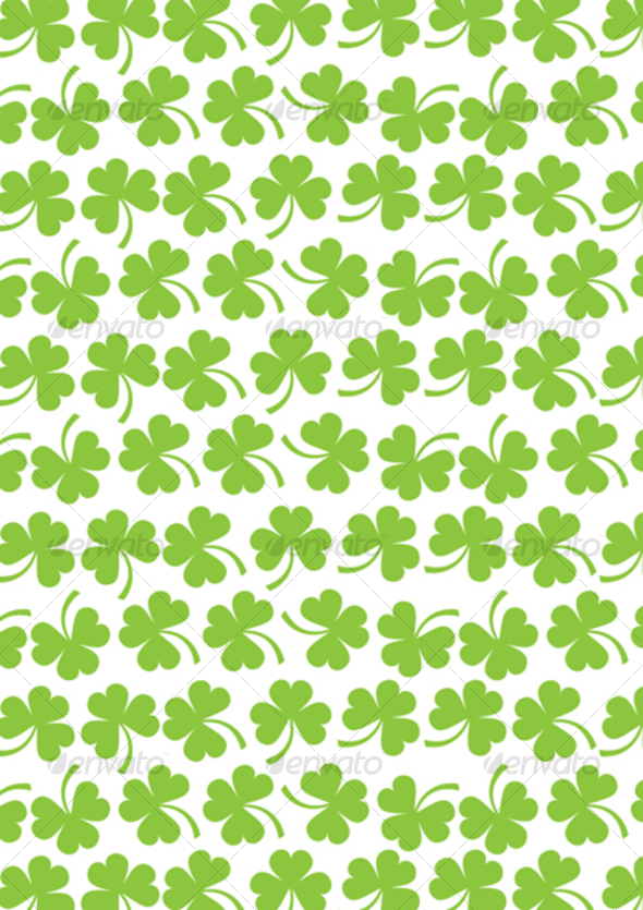 Shamrock texture - Flowers & Plants Nature