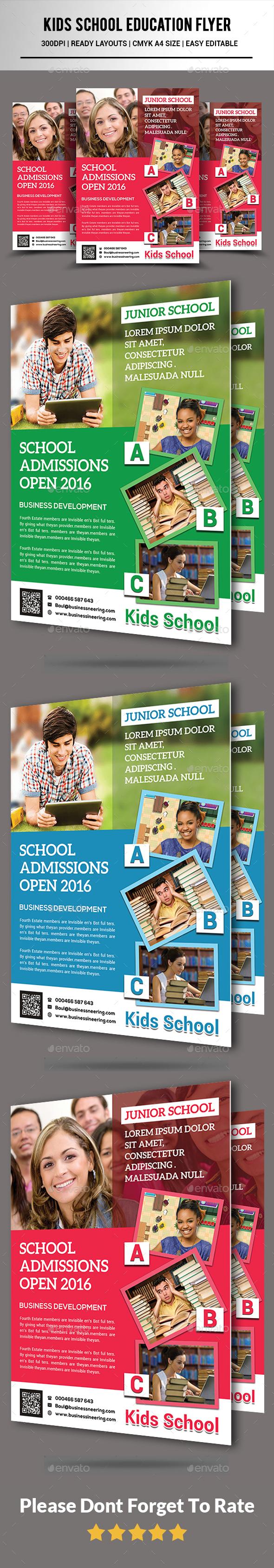 Kids School Education Flyer - Corporate Flyers