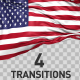 American Flag Transitions - VideoHive Item for Sale