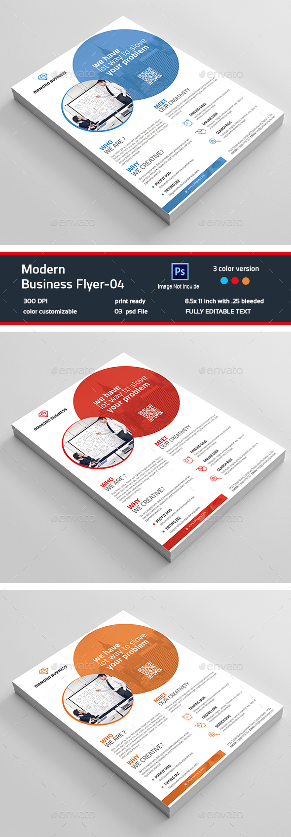 Minimal Business Flyer-04 - Corporate Flyers