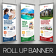 Roll Up Banner Signage Design v2 - GraphicRiver Item for Sale