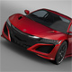 Acura NSX 2016 - 3DOcean Item for Sale