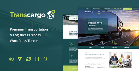 Transcargo – Logistics & Transportation WP Theme