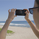 Taking Pictures on the Beach - VideoHive Item for Sale