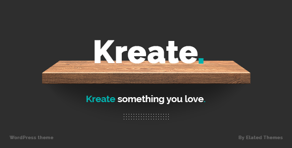 Kreate – Expert Theme for Creative Business - Creative WordPress