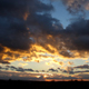 Sunset Landscape with Clouds - VideoHive Item for Sale