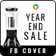 Year End Sale Facebook Cover