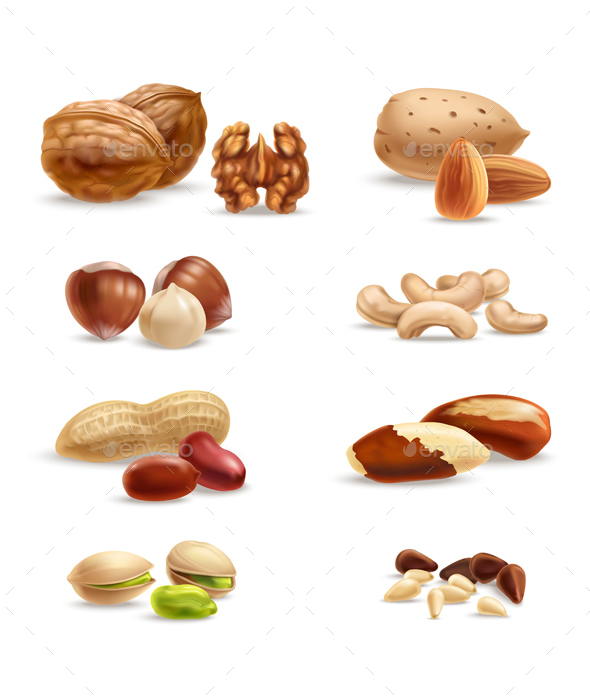 Nuts - Food Objects