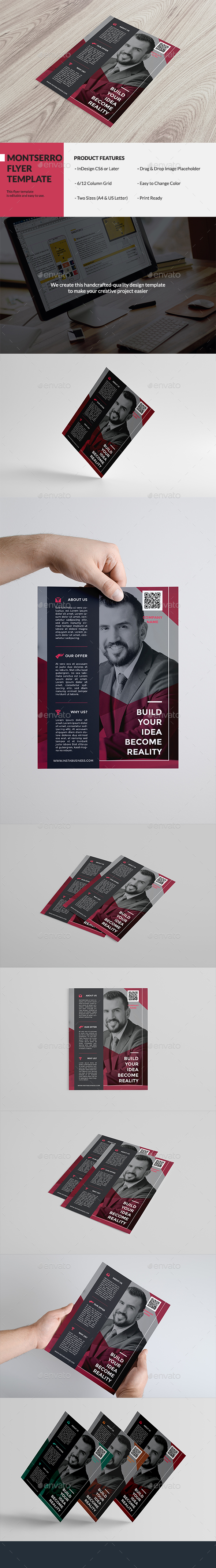 Montserro Flyer - Corporate Flyers