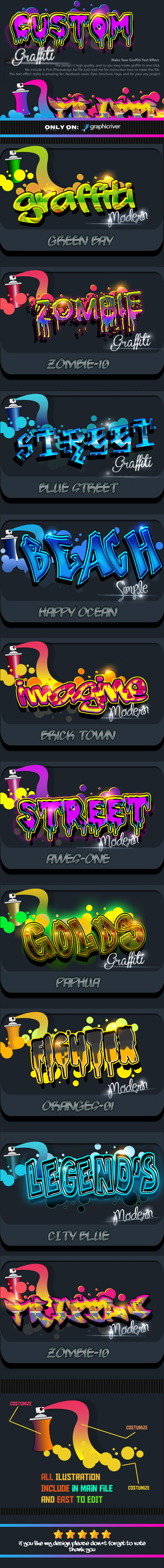 Costum Graffiti Text Effect Styles - Text Effects Styles