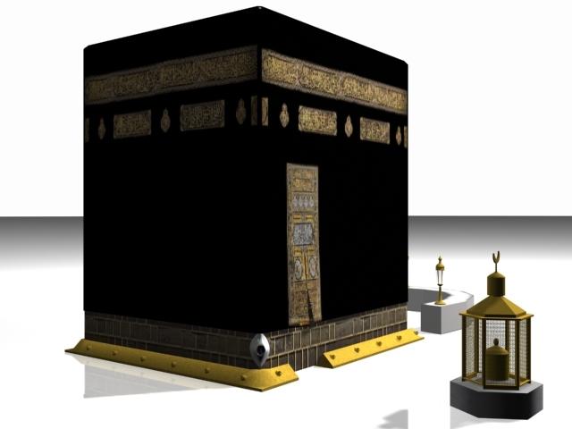 The Kaaba 3d Model By Harry2309 3docean
