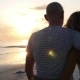 Loving Couple Hugging On Beach At Sunset - VideoHive Item for Sale